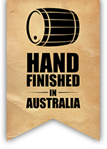 Hand finished in Australia